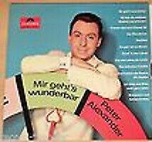 Peter Alexander Mir Geht's Wunderbar LP Comp Mono Vinyl Schallplatte 185248