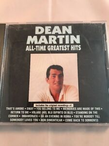 Dean Martin All-Time Greatest Hits CD 1990 Curb Records | eBay