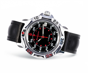 Vostok-Komandirskie-2414-811172-Uhr-17-Jewels-mechanische-Herren-Soviet-WATCH