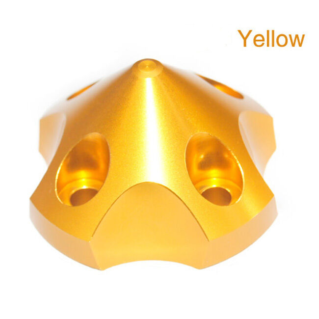 Aluminum  Spinner for 3D gold color color color Anodized For EME55  60  DLA56 58  MLD70 55CC 07b585