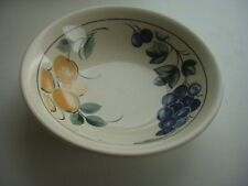 """STAFFORDSHIRE TABLEWARE -  6.5""""  CEREAL/SOUP BOWL - FRUIT PATTERN - RETRO"""
