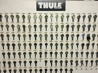 THULE Ersatzschlüssel Schlüssel Heckträger Dachkoffer Dachträger N117