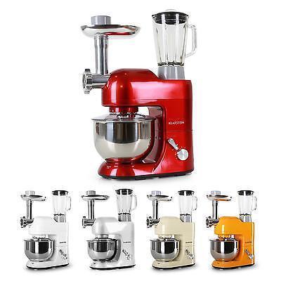 Robot de cuisine mutlifonction Hachoir Mixeur Bol mélangeur 5L 1200W 6 Vitesses