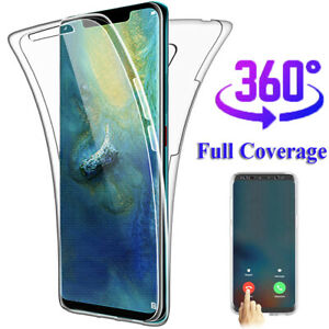 360 Full Protective Silicone Case Cover For Samsung Galaxy S10 Plus S10e S8 S9 Ebay
