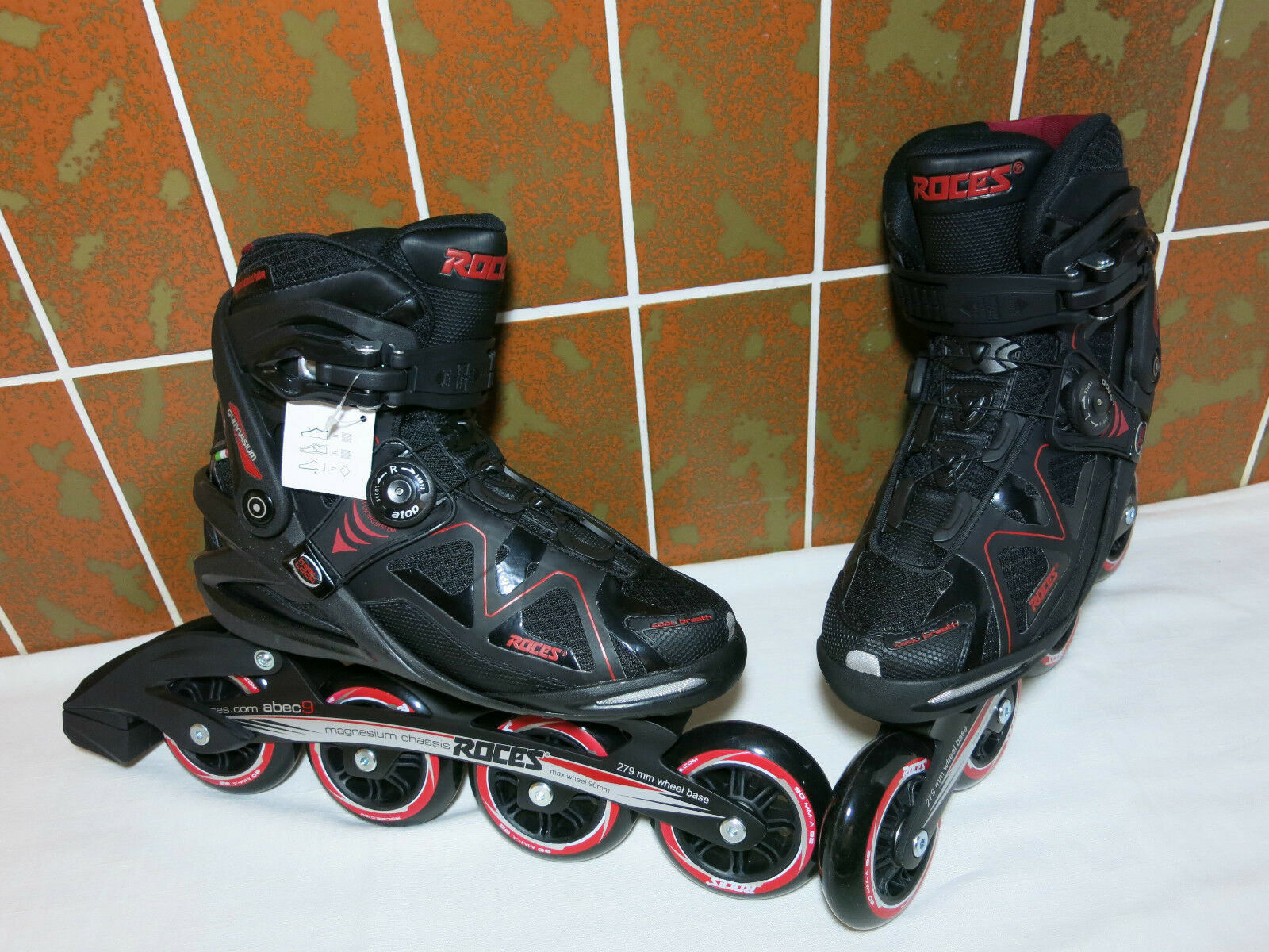 90mm BOA SUPER Inliner Skates von Roces Gr 40 Rollerblade Rollerblade Rollerblade k2 fila NEU  NP 189 90 a68546