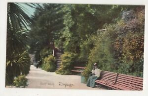 Rock Walk Torquay Devon Vintage Postcard 684b - Aberystwyth, United Kingdom - I always try to provide a first class service to you, the customer. If you are not satisfied in any way, please let me know and the item can be returned for a full refund. Most purchases from business sellers are protected by - Aberystwyth, United Kingdom