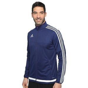 Details about Adidas Tiro 15 Men's Training Jacket (Dark BlueWhite)    Was $55