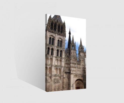 Leinwand 1 tlg Paris Notre Dame Kirche Bilder Skyline Wandbild aufgespannt 9B838