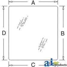 John Deere Parts GLASS FRONT T30856  646B,646, 644B, 644A,644, 544B, 544A,544,44