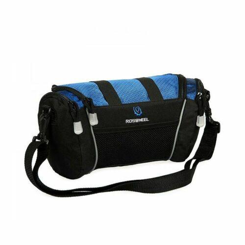 Cycling Pouch Mountain Bike Front Top Tube Bag Handlebar Shoulder Pannier Tools