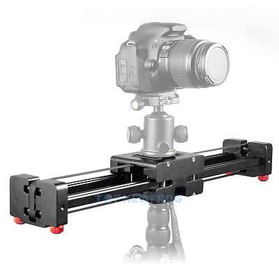 100CM Sliding Camera Track Slider Rail Dolly Stabilizer for DSLR Video Camcorder