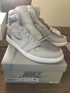 Nike-Air-Jordan-1-High-OG-CO-JP-RETRO-AJ1-US8-UK7-EU41-Grey-Silver-Dunk-Supreme