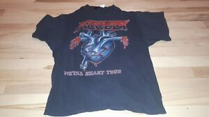 Vintage-Original-accept-metal-heart-tour-1985-tour-shirt-beautiful