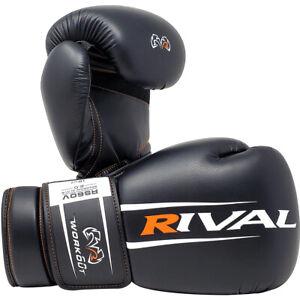 RIVAL Boxing RS60V Workout Sparring Gloves - Black