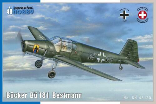 Bücker Bü 181 Bestmann SH48120 SPECIAL HOBBY 1:48