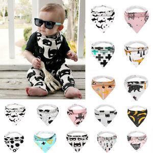 Kids-Baby-Feeding-Head-Scarf-Towel-Bib-Boy-Girl-Bandana-Saliva-Triangle-Dribble