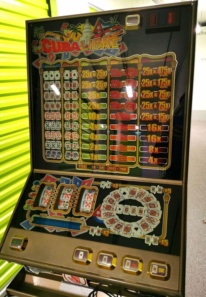 ZENITH CUBA LIBRE II E, spilleautomat, Perfekt
