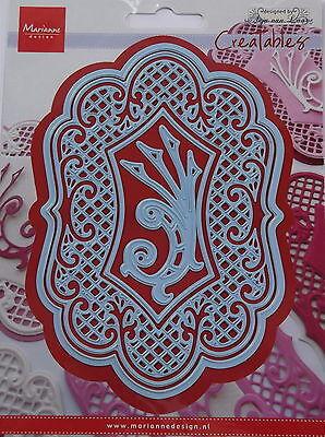 Marianne creatables Die Cut - Anjas Large oval - craft, card making,scrapbooking