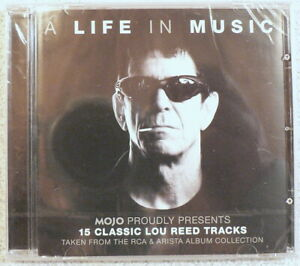 LOU REED MOJO A Life In Music 15 Classic RCA & Arista Tracks NEW SEALED 2016 CD