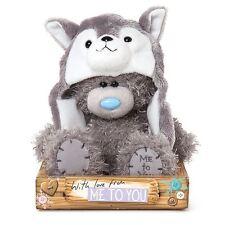 "Me to You 7"" Husky Character Hat Plush On Gift Box Rare - Tatty Teddy Bear"