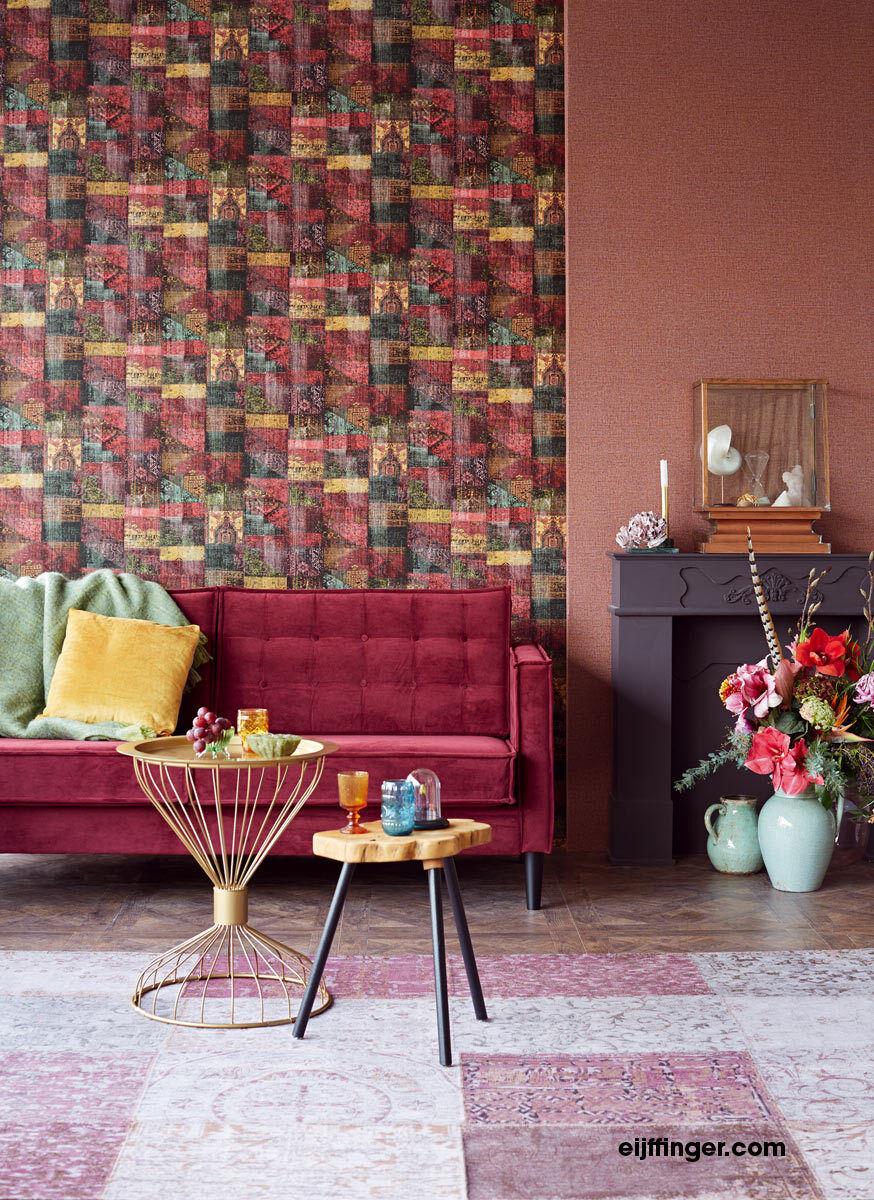 Tapete Masterpiece  Eijffinger 358030 / Oriental Vintage Patchwork /  /qm