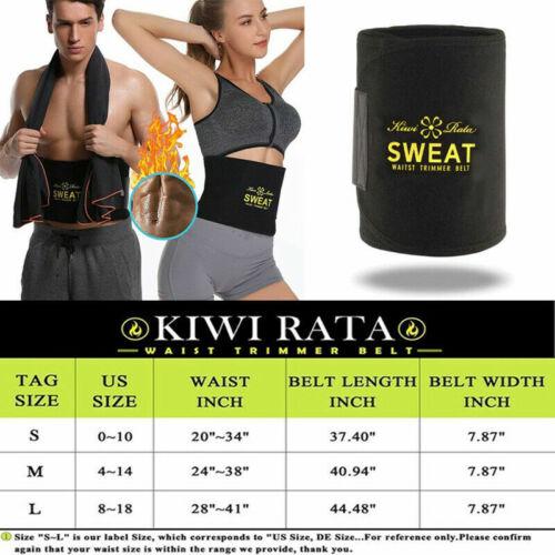 UK Thigh Waist Trainer Butt Lifter Neoprene Sweat Sauna Trimmer Belt Body Shaper