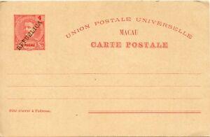 1911-Macau-pre-Post-Post-Card-Unused