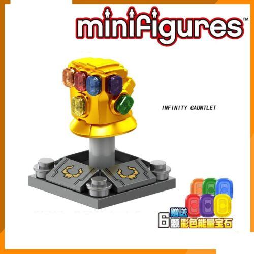Infinity Gauntlet Thanos Minifigure Dc Marvel Avengers Hero Lego MOC