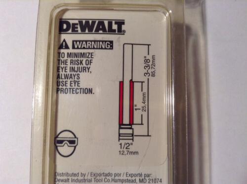 "Dewalt DW6435 Carbide 1//2/"" Cut Diameter 2F Laminate Trim Router Bit 1//2/"" Shank"