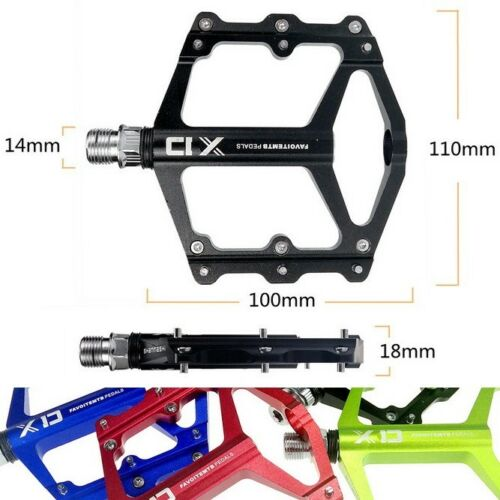 1 pair Road MTB Mountain Bike XC Bicycle XD Pedal Flat Cycling Pedals 10*8cm
