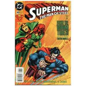 Superman: The Man of Steel #43 in Near Mint + condition. DC comics [*dy]