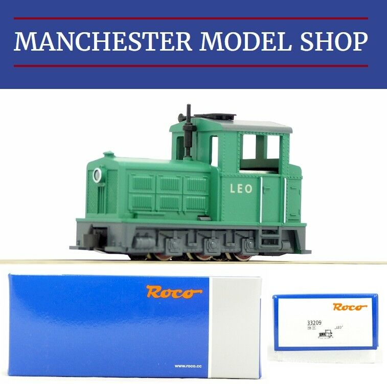 Roco 33209 HOe 009 1 87 Feldbahn Light railway diesel locomotive Leo NEW BOXED