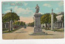 Habana Paseo de Carlos III Cuba Vintage Postcard 645a
