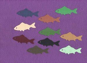 Fish 2 Small Die Cuts Ebay