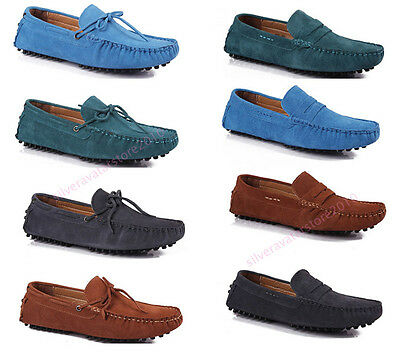 New Men's England Gommino Casual Suede Flats Shoes Driving shoes Slip On SB48