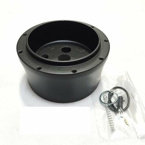 YJ Wrangler TJ 1976-1995 Jeep Steering Wheel Adapter Black Billet  9 Hole CJ