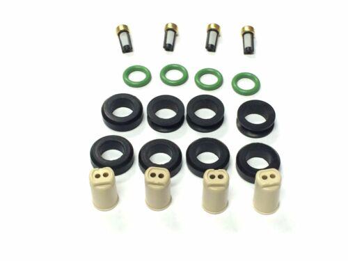 FUEL INJECTOR REPAIR KIT O-RINGS FILTERS GROMMETS CAPS 1993 GALANT ES 2.0L L4