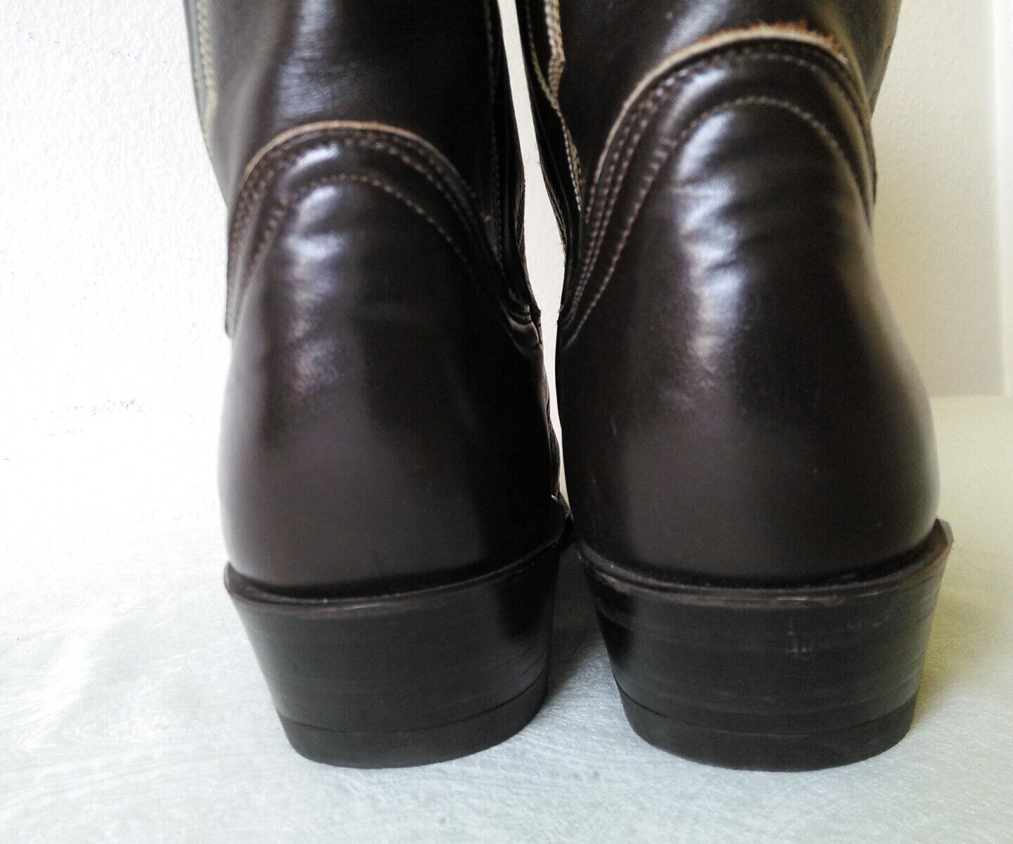 Great TONY LAMA Brown leather Lady's Lady's Lady's Cowboy Western boots Size 6.5 B Made in USA a08d3d