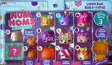 *Num Noms* LUNCH BOX SCENTED 13 PACK DELUXE SET with STORAGE CASE- Series 3
