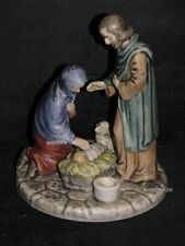 Goebel Figur Skrobek Weihnachtsfamilie Jesus Maria Josef HX337