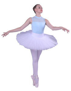 4645c5538 Image is loading New-Ladies-Professional-Ballet-Tutu-5Layers-Hard-Organdy-