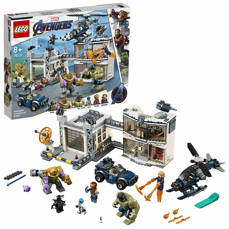 LEGO Super Heroes Avengers Compound Battle Set 76131