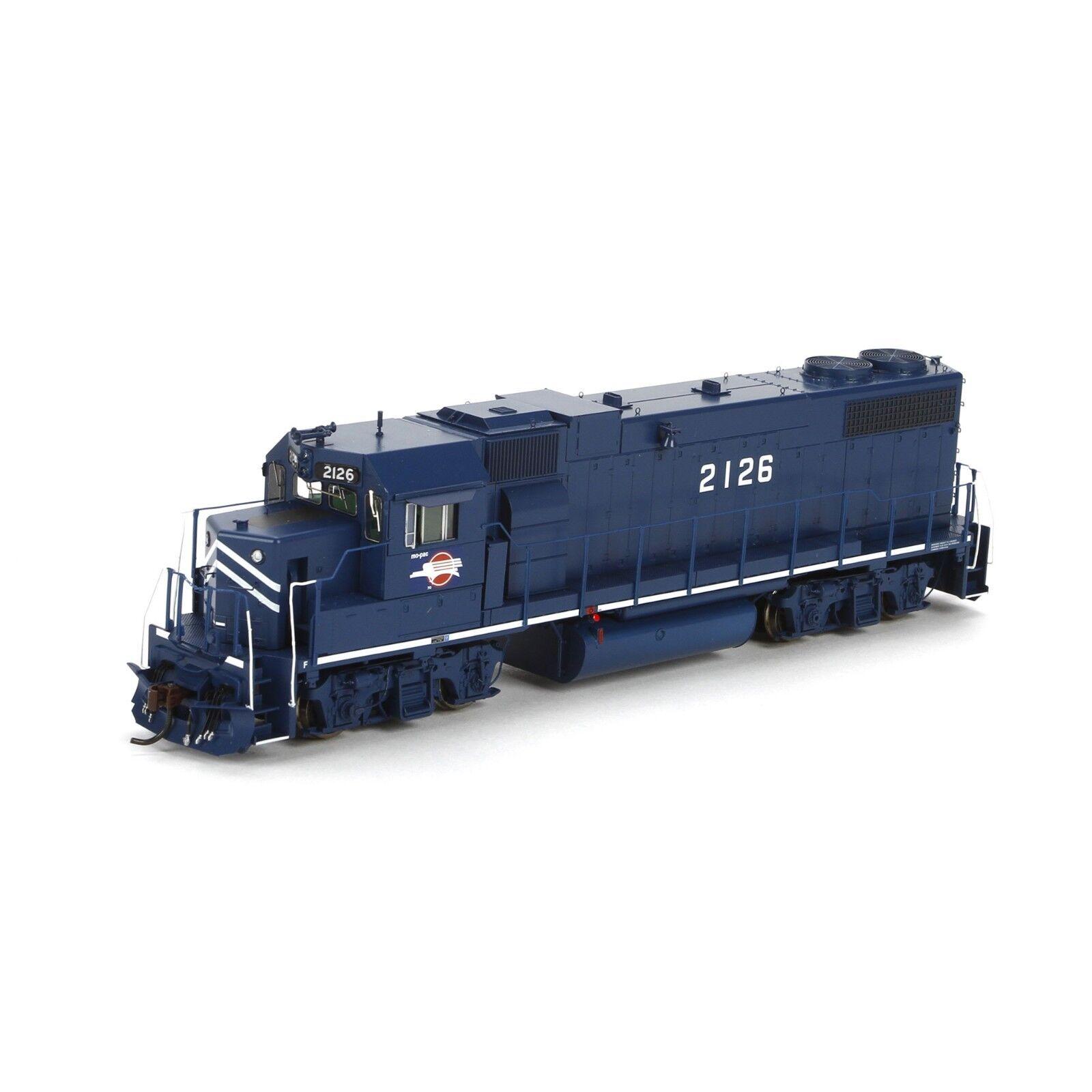 HO Scale GP38-2 Locomotive w/Sound - Missouri Pacific  2126 - Athearn  G40607