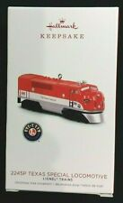 Hallmark 2018 Lionel Train Ornament 2245p Texas Special Locomotive