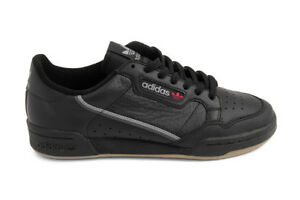 Details about Adidas Originals Continental 80 in Core BlackGreyGum BD7797