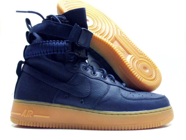 designer fashion 14aab ce041 germany mens nike air force 1 sf special field midnight navy gum 864024 400  us 12
