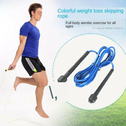 Details about  /Speed Skipping Jump Rope Fitness Gym Exercise Equipment Tool Adjustable