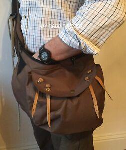 Hawking /& Hunting Bag Free Meat Pouch Falconry Codura Bandolero Green bag Side