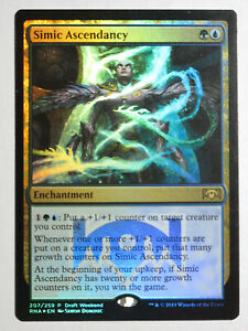 Simic-Ascendancy-Foil-promo-Mtg-Magic-English
