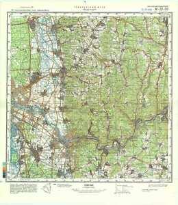 Russian Soviet Military Topographic Maps - HEIDELBERG (Germany), 1 ...